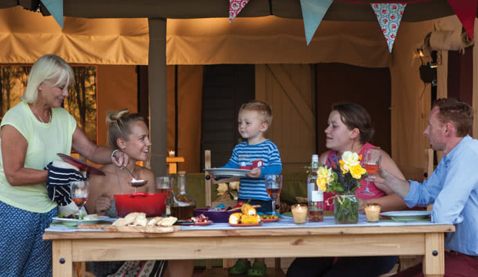 Quality family glamping breaks needed break the bank