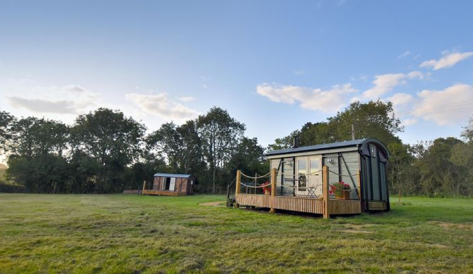 Escape from London to a Norfolk glamping retreat